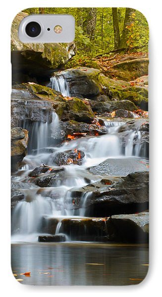 Autumn Waterfall IPhone Case by Shelby  Young