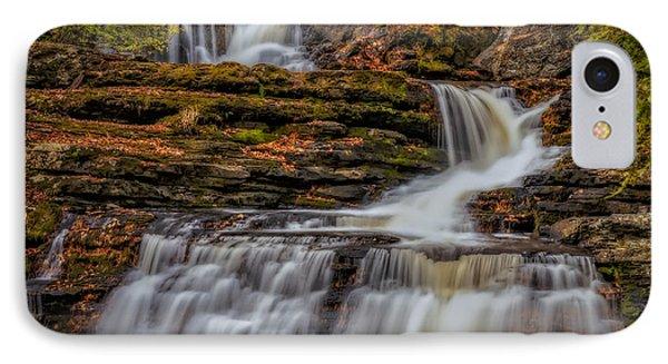 Autumn Waterfalls IPhone Case by Susan Candelario