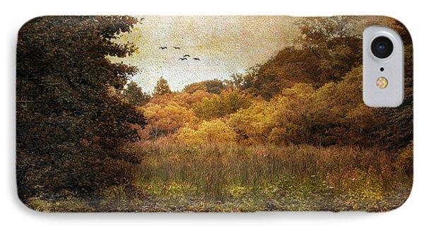 Autumn Wetlands Phone Case by Jessica Jenney