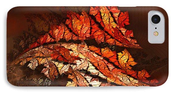Autumn Wind Phone Case by Jutta Maria Pusl