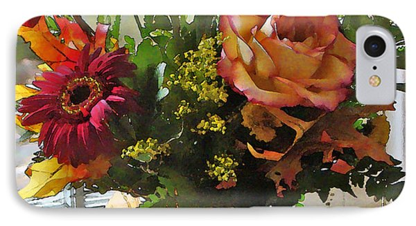 IPhone Case featuring the photograph Autumn Window by Betsy Zimmerli