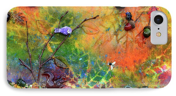 Autumnal Enchantment IPhone Case by Donna Blackhall