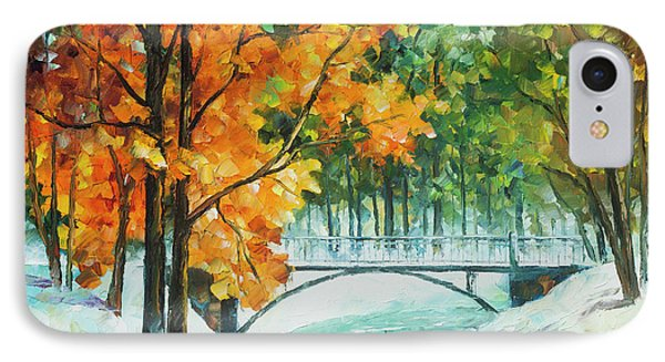 Autumn's End Phone Case by Leonid Afremov