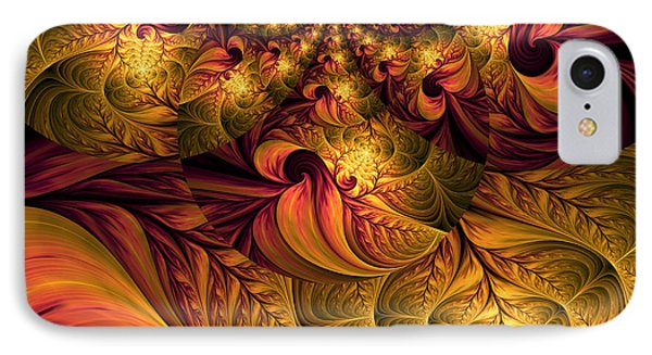 Autumns Winds IPhone Case