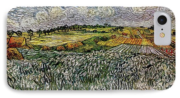 Landscape Auvers28 IPhone Case by Pemaro