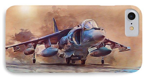 Av-8b Harrier IPhone Case