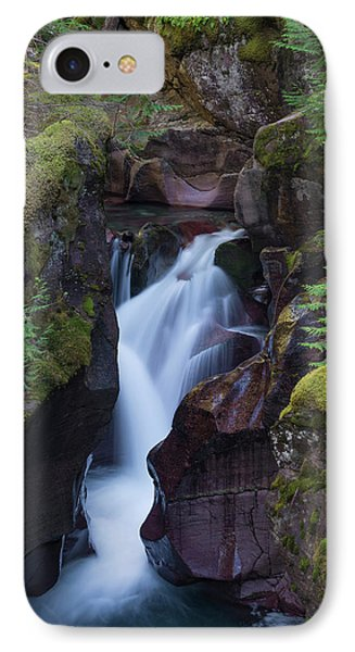 Avalanche Gorge 3 IPhone Case by Gary Lengyel