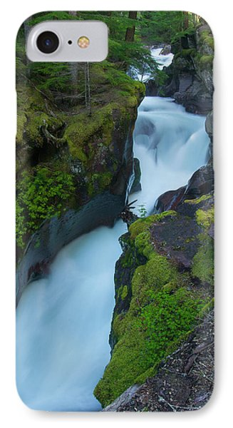 IPhone Case featuring the photograph Avalanche Gorge 6 by Gary Lengyel