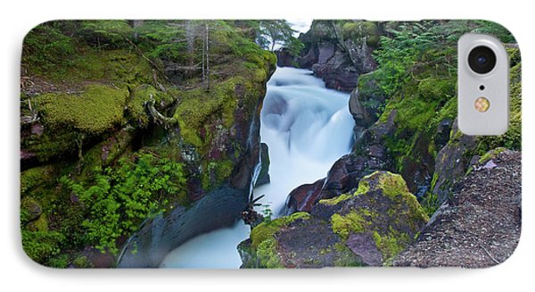 IPhone Case featuring the photograph Avalanche Gorge 7 by Gary Lengyel