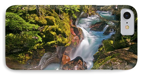IPhone 7 Case featuring the photograph Avalanche Gorge by Gary Lengyel