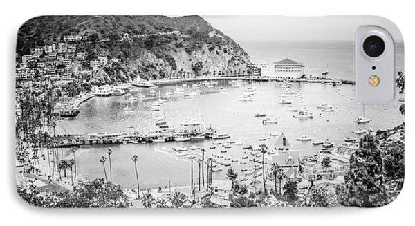 Avalon California Black And White Photo IPhone Case by Paul Velgos