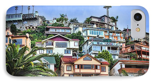 Avalon Hillside With Harbor View IPhone Case by Norma Warden
