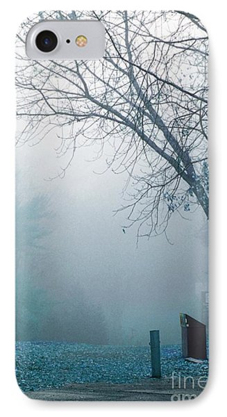 Avant Les Flocons 01 - C5f IPhone Case by Variance Collections