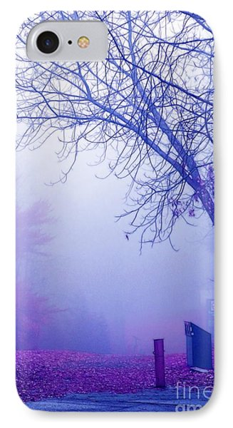 Avant Les Flocons - 02a33c IPhone Case by Variance Collections