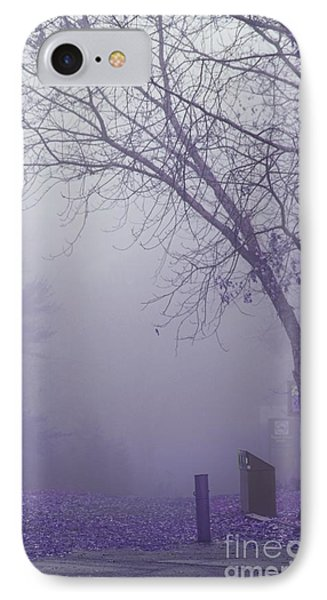 Avant Les Flocons - 1c2a IPhone Case by Variance Collections