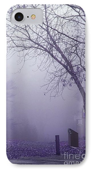 Avant Les Flocons - 1c2b IPhone Case by Variance Collections