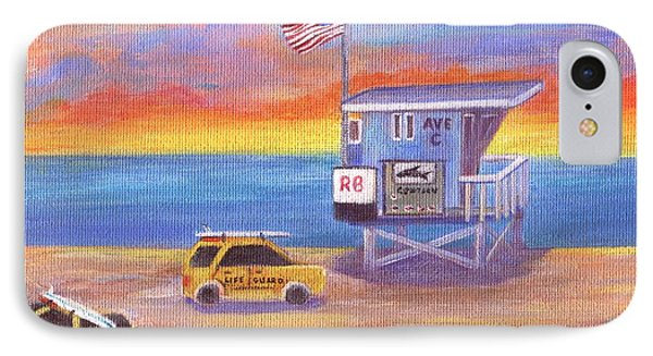 IPhone Case featuring the painting Avenue C by Jamie Frier