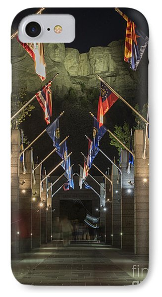 Avenue Of Flags IPhone Case by Juli Scalzi