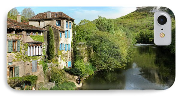 Aveyron River In Saint-antonin-noble-val IPhone Case by RicardMN Photography