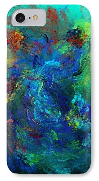 Avian Dreams - Pardise  IPhone Case by David Lane