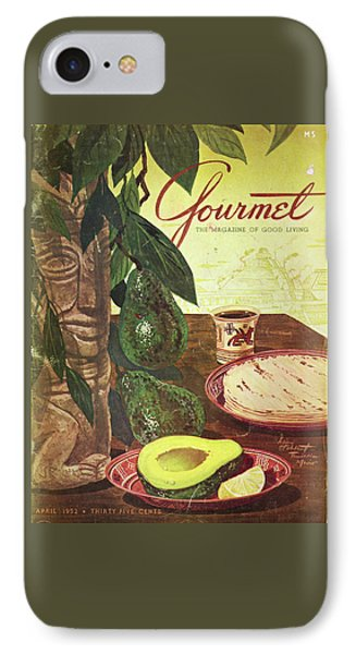 Avocado And Tortillas IPhone Case by Henry Stahlhut