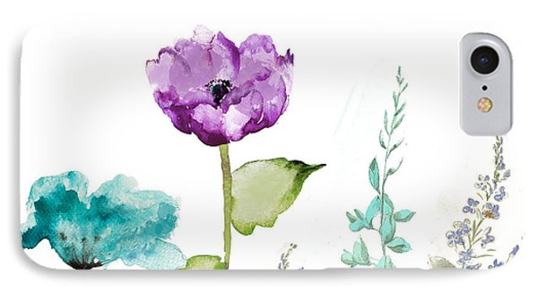 Flowers iPhone 7 Case - Avril  by Mindy Sommers