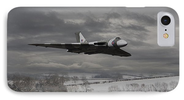 Avro Vulcan - Cold War Warrior IPhone Case by Pat Speirs