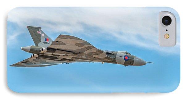 Avro Vulcan Xh558  IPhone Case by Adrian Evans