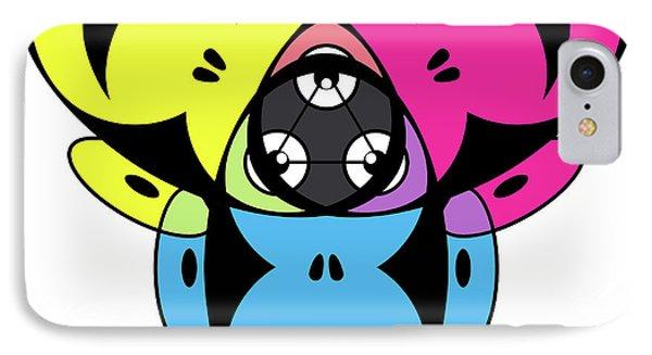 Awakened Ape Color Wheel IPhone Case