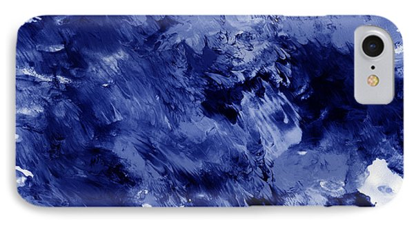 Awakened Sky- Abstract Art By Linda Woods IPhone Case by Linda Woods