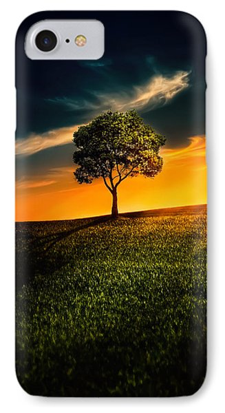 Awesome Solitude II IPhone Case by Bess Hamiti