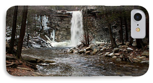 Awosting Falls In January #2 Phone Case by Jeff Severson