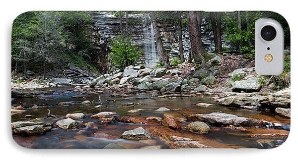 Awosting Falls In July Iv Phone Case by Jeff Severson