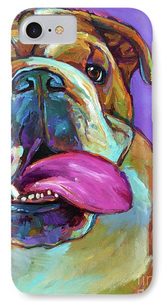 IPhone Case featuring the painting Axl by Robert Phelps
