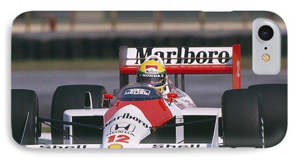Ayrton Senna. 1988 Mexican Grand Prix IPhone Case
