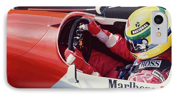 Ayrton Senna. 1993 Spanish Grand Prix IPhone Case