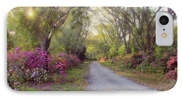 Azalea Lane By H H Photography Of Florida IPhone Case by HH Photography of Florida