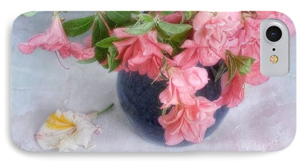 Azalea Time IPhone Case by Louise Kumpf