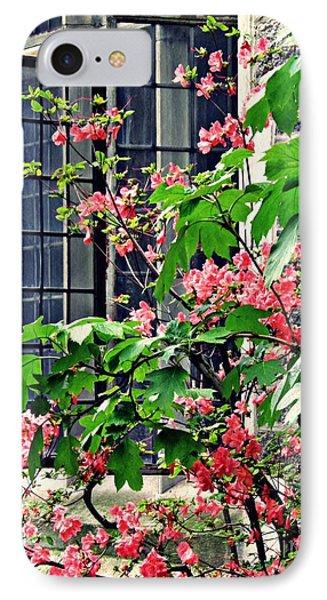 Azaleas At The Window   IPhone Case by Sarah Loft