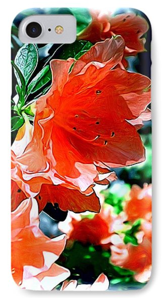 IPhone Case featuring the painting Azaleas In The Spring by Patricia Griffin Brett