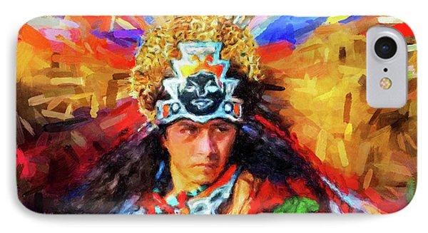 Aztec Dancer IPhone Case