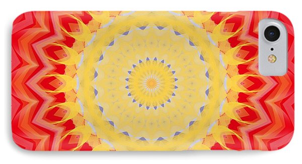 Aztec Sunburst IPhone Case by Roxy Riou