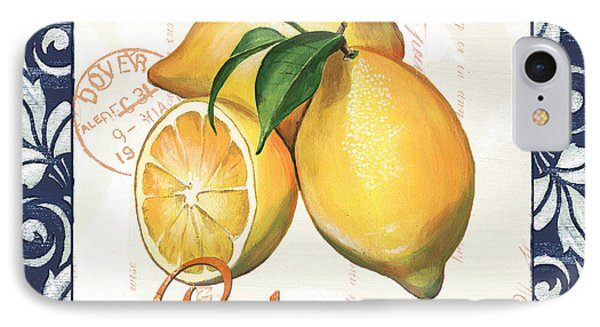 Azure Lemon 2 IPhone Case by Debbie DeWitt