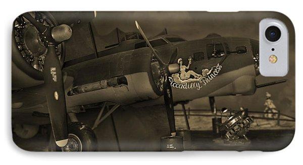 B - 17 Field Maintenance  Phone Case by Mike McGlothlen