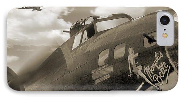 B - 17 Memphis Belle Phone Case by Mike McGlothlen