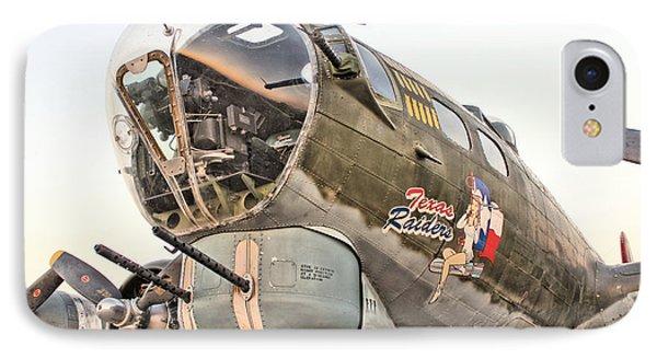 B-17 Texas Raiders Phone Case by Michael Daniels