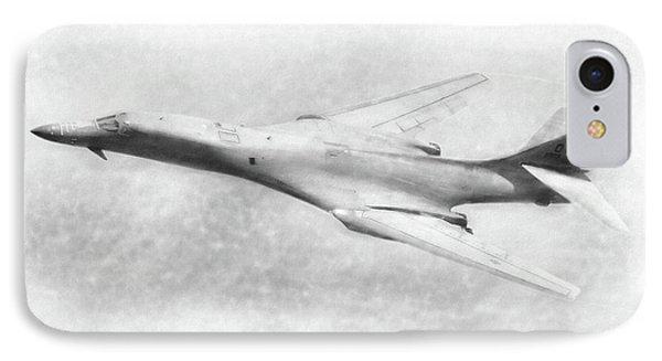 B-1b Lancer IPhone Case by Douglas Castleman