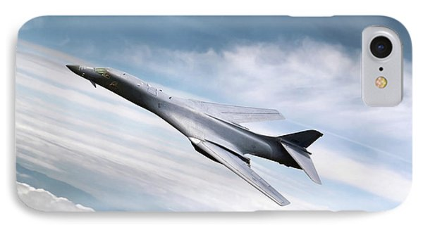 B-1b Lancer IPhone Case by Peter Chilelli
