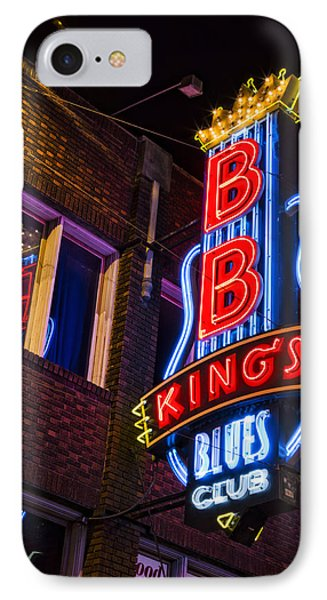 B B Kings On Beale Street IPhone Case by Stephen Stookey