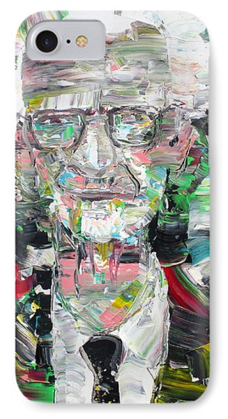B. F. Skinner Portrait IPhone Case by Fabrizio Cassetta